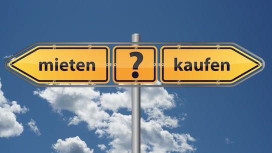 Immobilien: Haus oder Wohnung Mieten oder Kaufen?