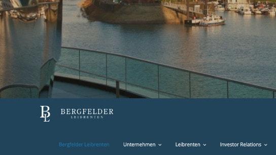 Bergfelder Leibrenten: Leibrenten-Anbieter Webseite