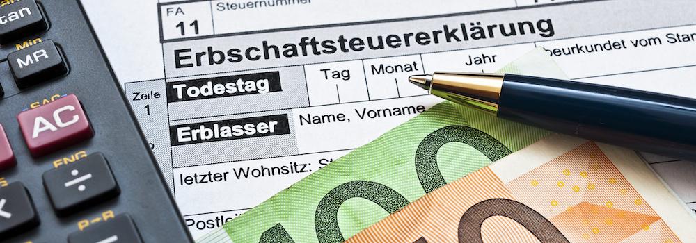 Erbschaftssteuer Schenkungssteuer berechnen