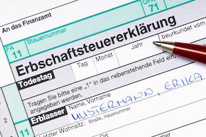 Erbschaftssteuererklärung Immobilien-Gutachten