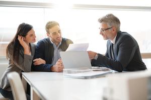 Immobilienkredit Genehmigung Bankberater