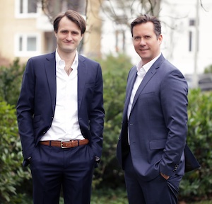 Dr. Alexander Ey und Christoph Neuhaus, Gründer und Management wertfaktor