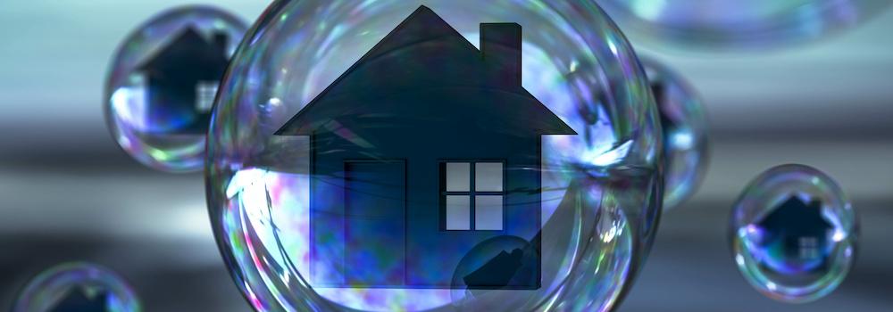 Immobilienblase Entwicklung Immobilienpreise Zinsen