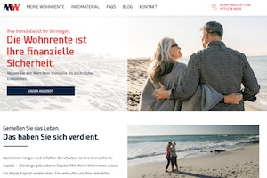 Meine Wohnrente Webseite Deutsche Immobilien-Renten AG