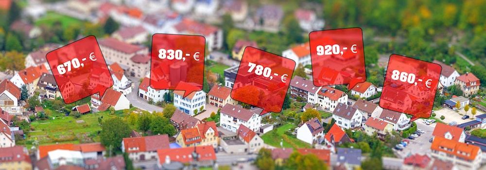 Preisentwickung Deutschland Immobilien Immobilienblase 2021
