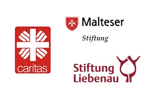Leibrente Stiftungen: Caritas, Malteser, Stiftung Liebenau