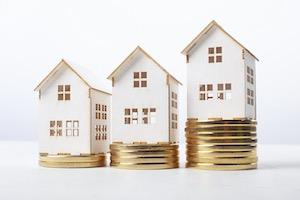 Wertsteigerung Immobilien-Teilverkauf